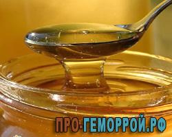 Мед от геморроя