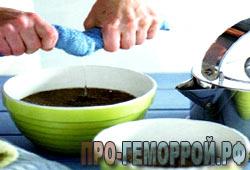 Компрессы для лечения геморроя в домашних условиях